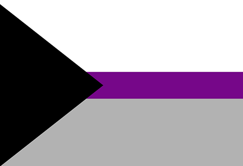 Demisexual pride flag