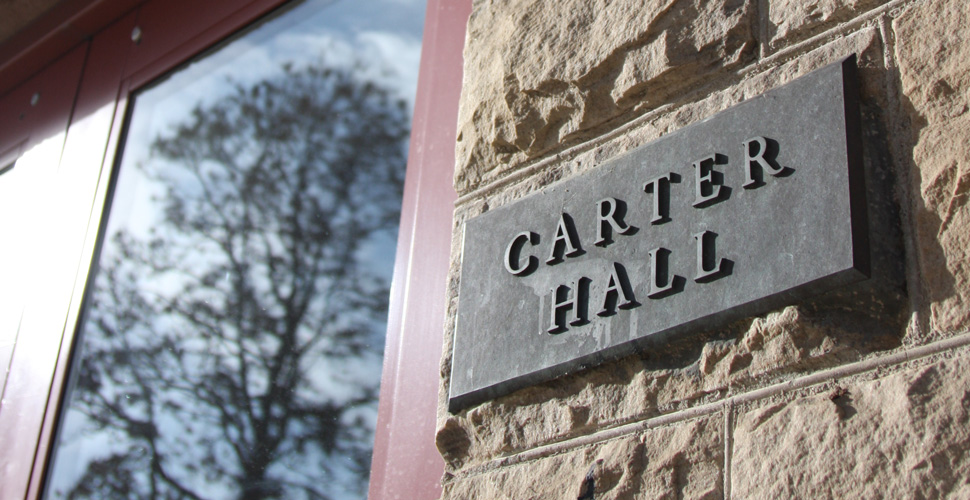 Carter Hall outside