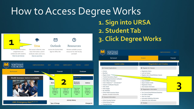 how to access degree works