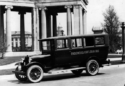 A 1920's City Bus