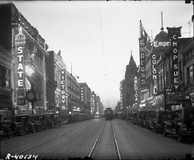 Denver's Theater Row (1920's)