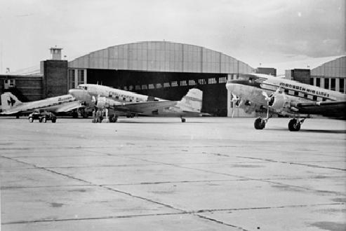 Stapleton Airport (Late 1940's)