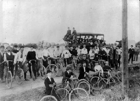 Bicycle Riders- 1895