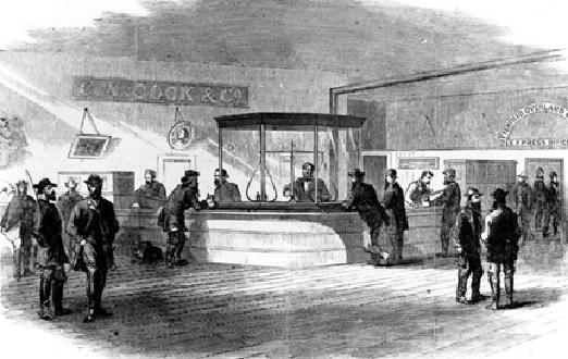 Drawing Of C.A. Cook And Company