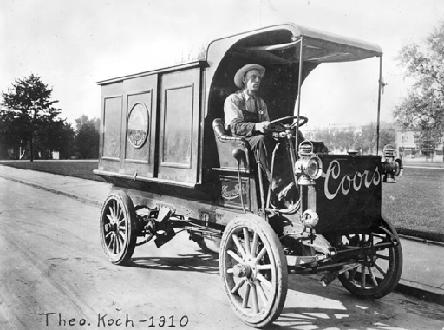 Coors Delivery Truck- 1910