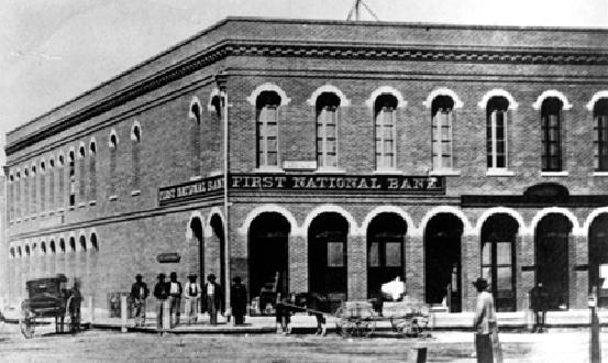 First National Bank- 1865
