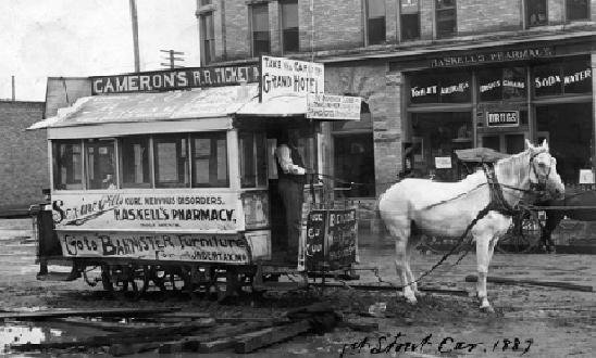 Grand Junction's First Streetcar