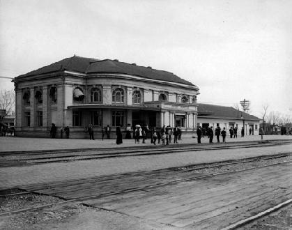 Grand Junction Railroad Depot- 1908