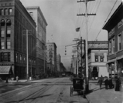 Seventeenth Street In The 1890's