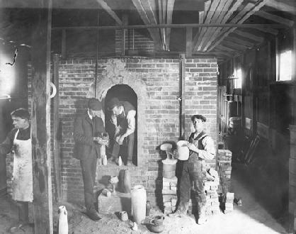 Van Briggle's Pottery Factory