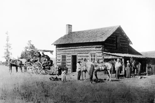 House on the Q-T-5 Ranch