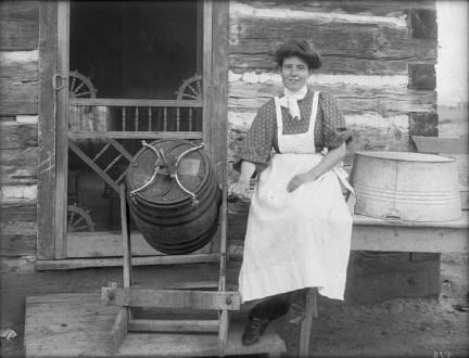 Churning Butter (1890)