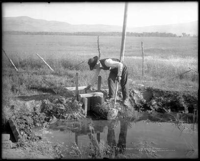 Irrigating In Routt County (1908)
