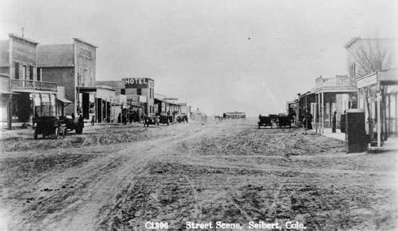 Main Street In Siebert, Colorado (1906)