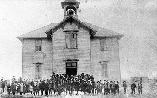 Frame School In Sterling (1884)