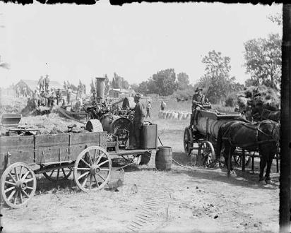 Wagons For Wheat (1904)