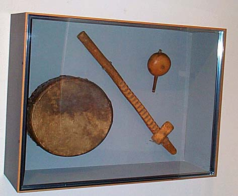 Ute Bear Dance Instruments