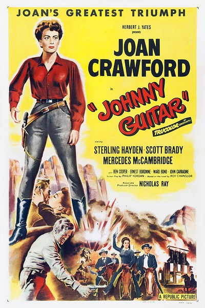 """Johnny Guitar"" movie poster."
