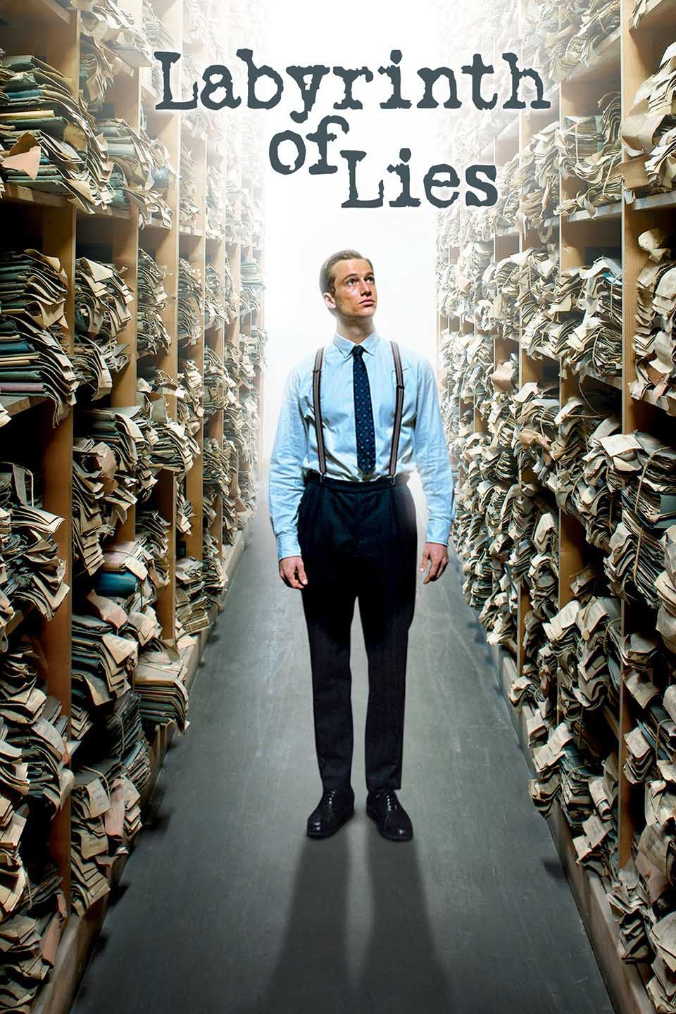 A poster for the movie, Labyrinth of Lies, an upcoming IFS movie.