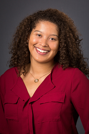 Malaika Michel-Fuller, recent winner of a fellowship for her leadership and civic engagement.