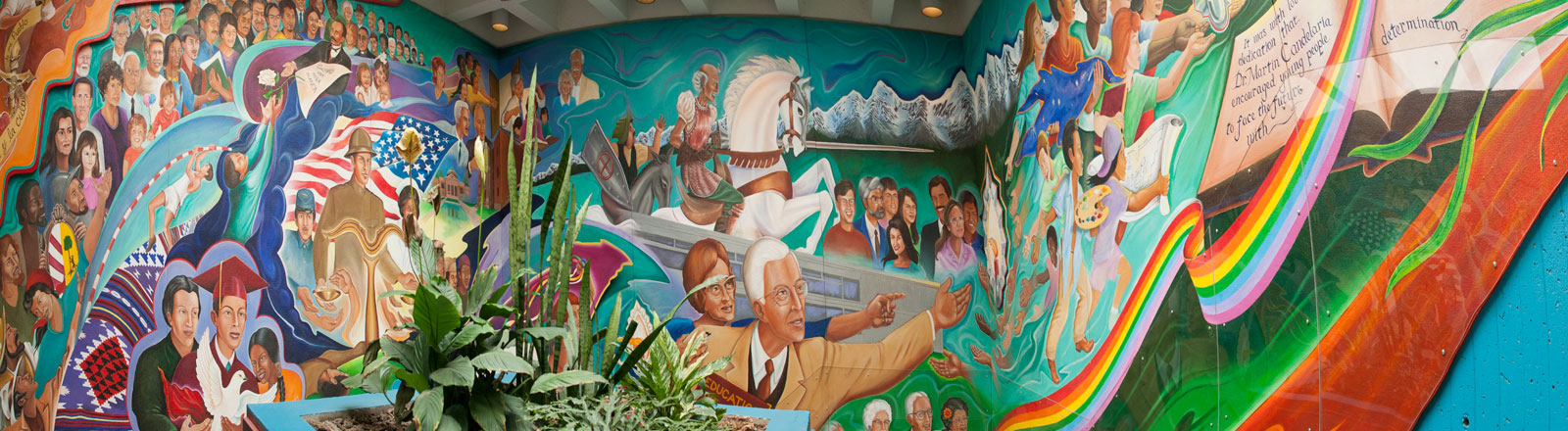 candelaria hall mural