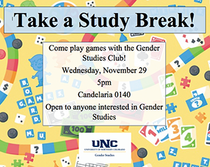 game night gender studies club