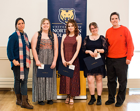 gender studies honorees