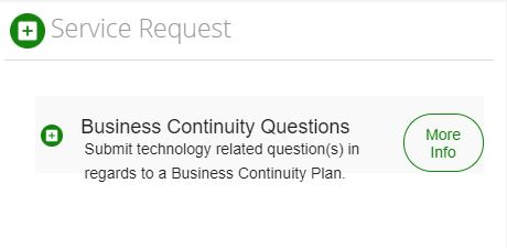 Business Continuity Questions