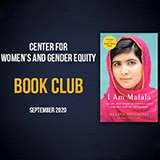 Center for Women's and Gender Equity Fall Book Club Kickoff