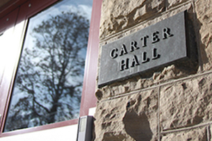 Cater Hall home of international admissions