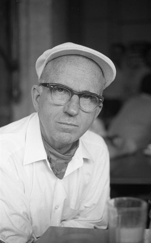 James Michener at Plaza Mayor