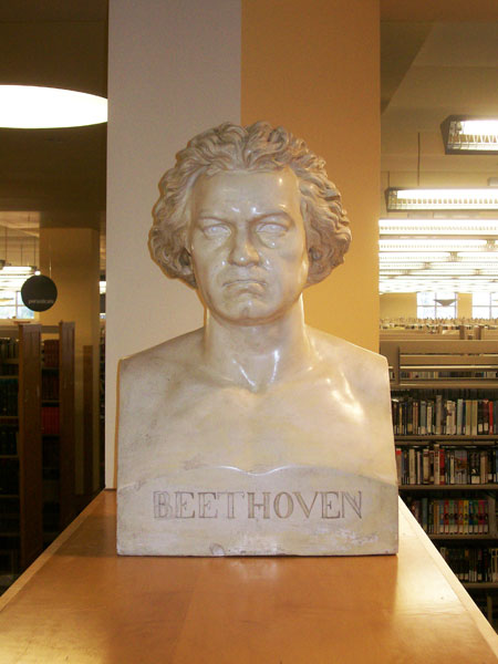 Beethoven, bust