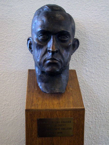 George Willard Frasier, bust