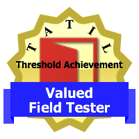 TATIL Valued Field Tester badge
