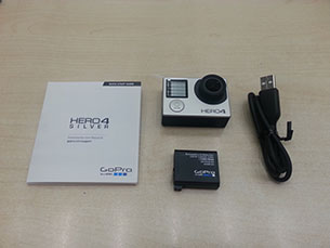 GoPro Hero 4 camera and accessories