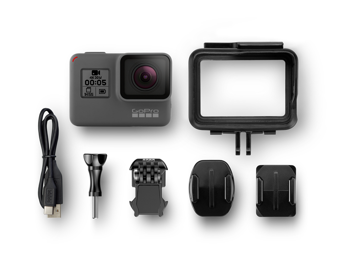 Photo of GoPro Hero 5 with accessories