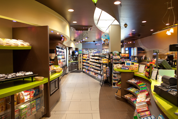Convenience store in the UC