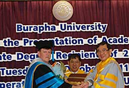 Burapha University commencement