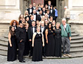 UNC choral group that traveled to Europe this summer