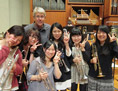 UNC professor Richard Mayne and Japanese