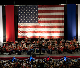The President's Own United States Marine Band brings back memories for one of UNC's own.