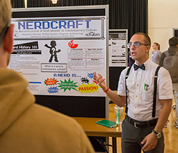 Nearly 300 Students Present Projects during UNC's Day Dedicated to Research, Scholarship and Creative Works