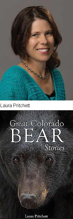Laura Pritchett and the cover of her book