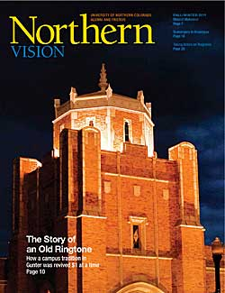 Cover of Northern Vision Magazine