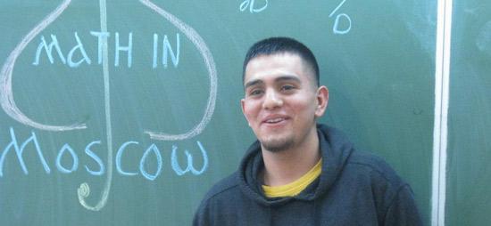 UNC Student Jeremy Garcia