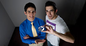 Ryan Malaty and Nick Guarino