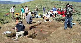 UNC archeology dig