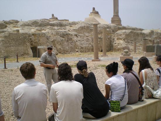 Gamal Selim, renown Egyptologist