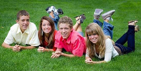 Foster quadruplets