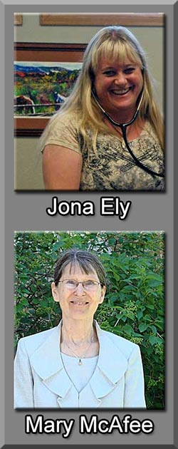 Jona Ely and Mary McAfee